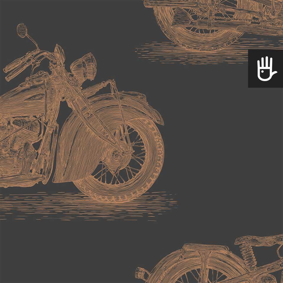 tapeta stare motocykle mosiadz detal