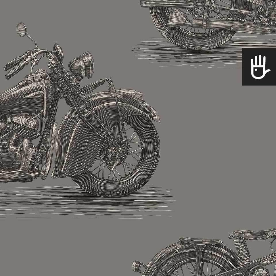 tapeta stare motocykle ołów detal
