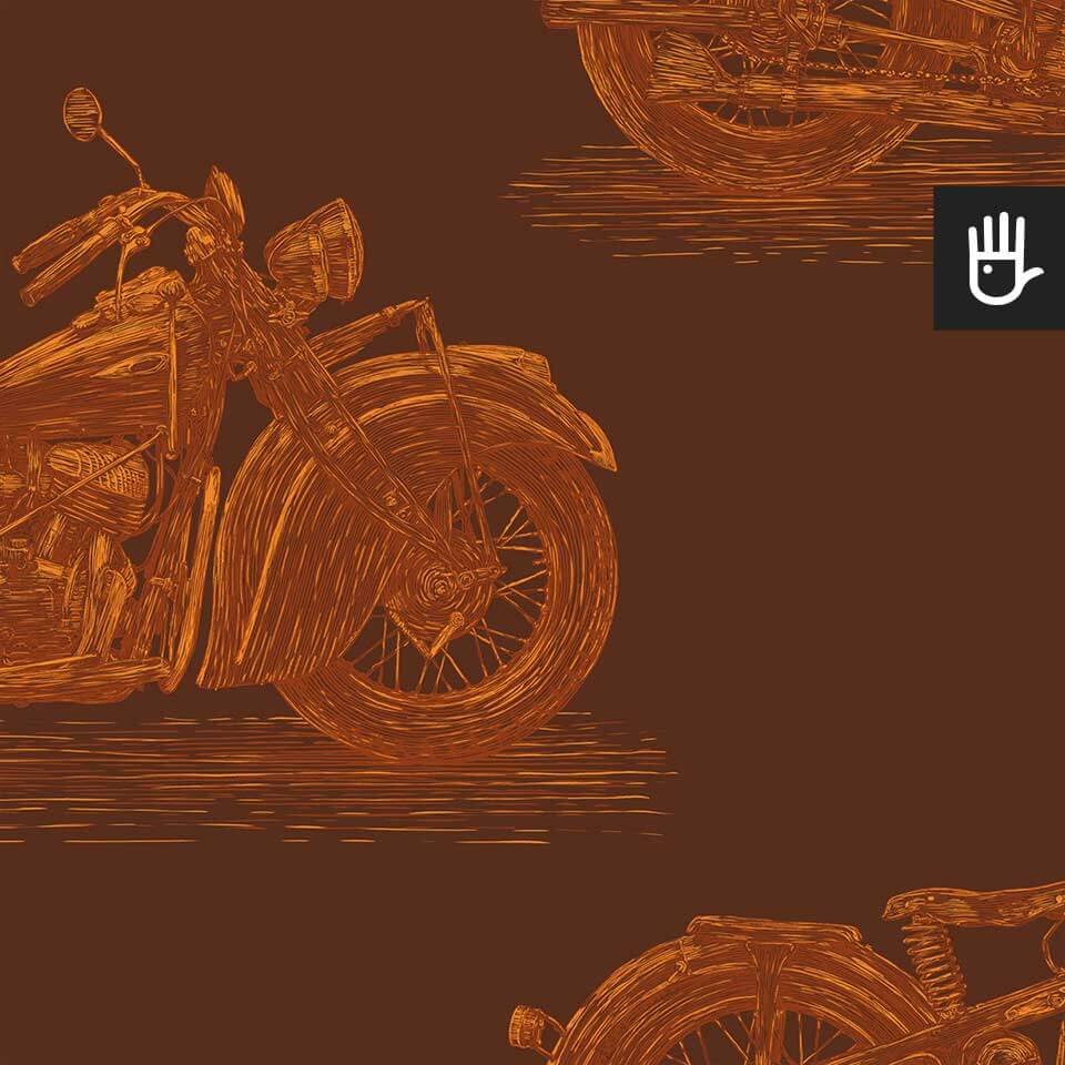 tapeta stare motocykle rdza detal