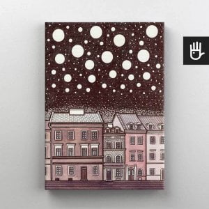 Lublin canvas obraz na plotnie stare miasto