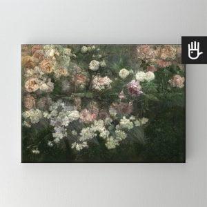 obraz na płótnie majowy ogród różany