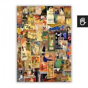 Plakat Belle Epoque 1 w kolorze