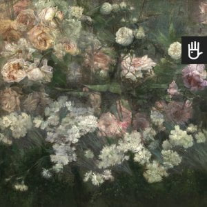 fragment fototapety majowy ogród różany