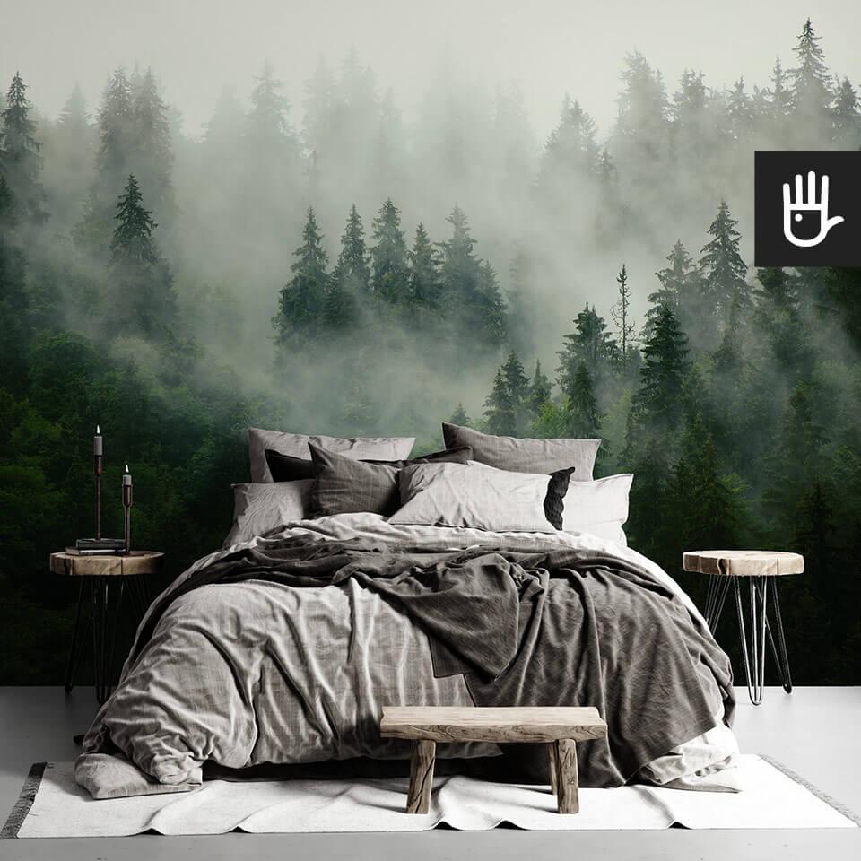 Czy fototapeta Las we mgle to wciąż modna dekoracja ścienna?
