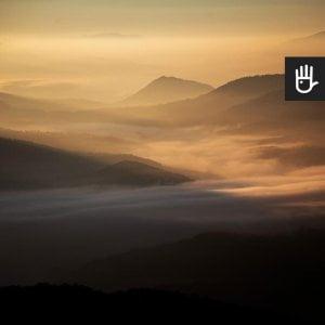 Kadr fototapety Przełęcz w słońcu