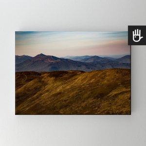 Obraz na płótnie Górskie wędrówki