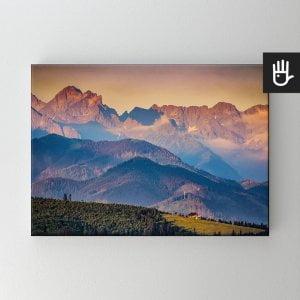 Obraz na płótnie Panorama Tatr
