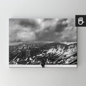 Obraz na płótnie Śnieg w Tatrach