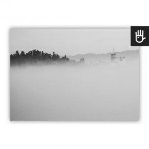 Plakat Zamek we mgle
