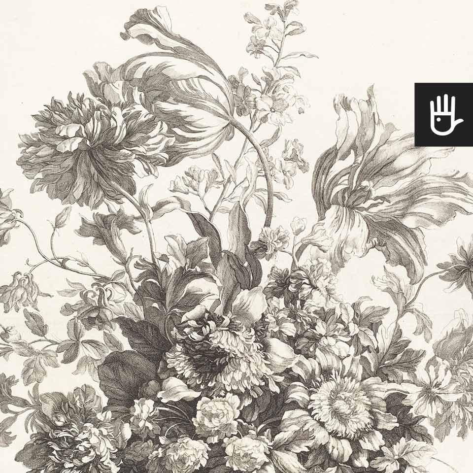 Fototapeta Kosz wiosennych kwiatów