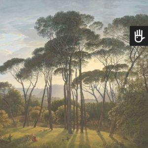 Fototapeta Włoski krajobraz w kolorze