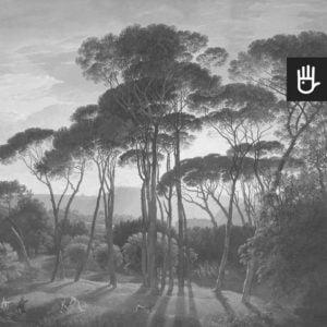 Fototapeta Włoski krajobraz w szarości