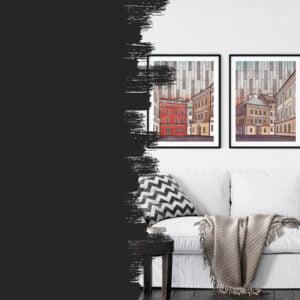 Plakat architektura