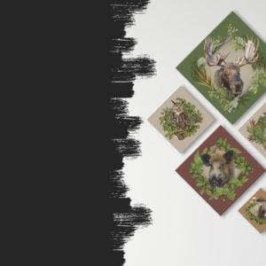 Obraz zwierzęta
