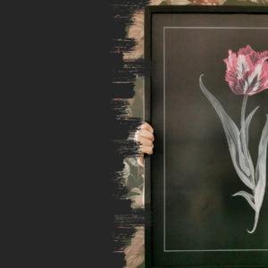 Plakat kwiaty
