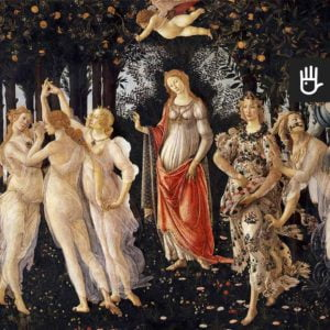 Fototapeta Primavera jest reprodukcją obrazu